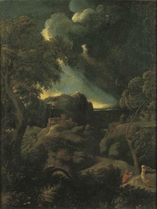 Cerchia di Gaspar Dughet (Roma 1615-1675)