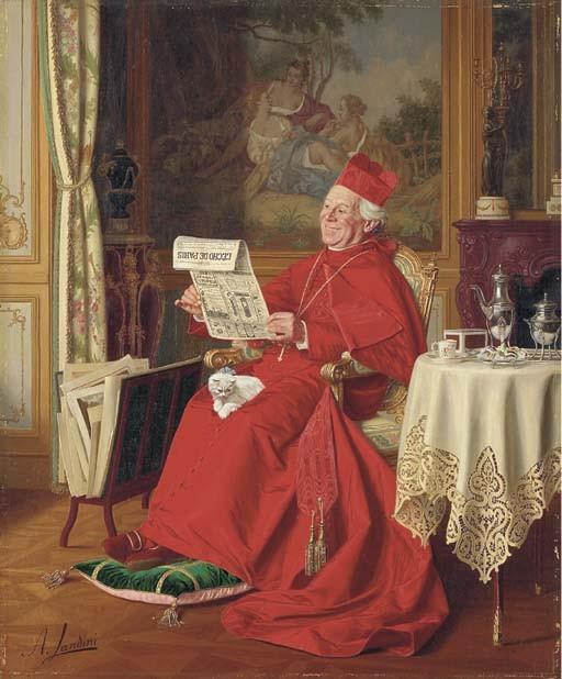 Andrea Landini (Italian, 1847-1912)