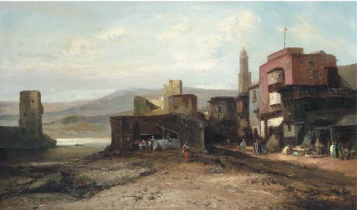 Pierre Tetar Van Elven (Dutch, 1828 - 1908)