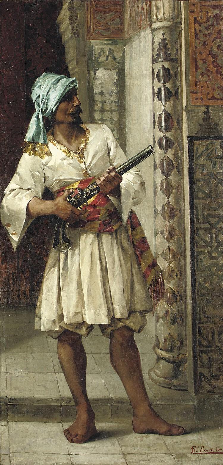 Luigi de Servi (Italian, 1863-1945)