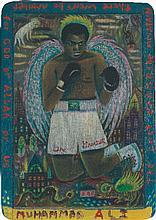TONY FITZPATRICK (B. 1958) Muhammad Ali inscribed The Greatest/The Last Cha