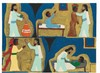 LEROY ALMON (1938-1997) Untitled (Miracles of Jesus), 1988 initialed LA low, Leroy Almon, Click for value