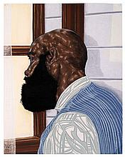 Toyin Ojih Odutola (b.1985) Manifesto charcoal, pastel and graphite on paper 24 x 19in. (60.9 x 48.25cm.)