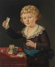 SIR GEORGE CHALMERS (EDINBURGH C. 1720-1791 LONDON) Portrait of a young bo