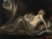 HENRY FUSELI (ZÜRICH 1741-1825 PUTNEY HEATH, NEAR LONDON) The incubus leavi