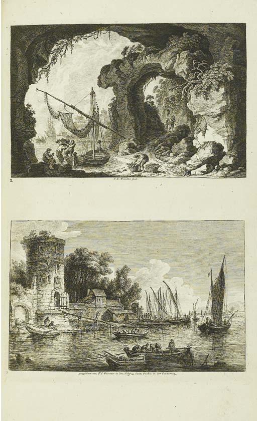 [WEIROTTER, Franz Edmund.] <I>Ouevre.</I> Parigi: Basan & Poignant, [1775].