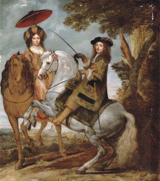 Gonzales Coques (Antwerp 1614-1684)
