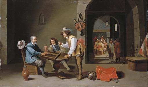 Cornelis Mahu (Antwerp c. 1613-1689)