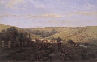 ABRAM LOUIS BUVELOT (1814-1888)