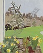 Daffodils and Pear Tree, Fairfield Porter, Click for value