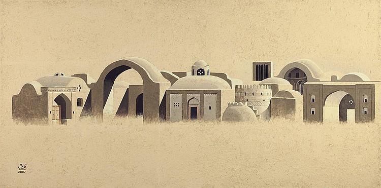 Parviz Kalantari (Iranian, b. 1931)