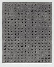 ZARINA (B. 1937) Spaces to Hide embossed print on paper 16 1/8 x 13 in. (41 x 33 cm.) plate; 25 ½ x 19 7/8 in. (64.8 x 50.5 cm.) sheet