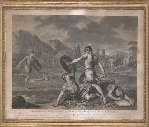 D'APRES JEAN JACQUES FRANCOIS LEBARBIER (1738-1826)