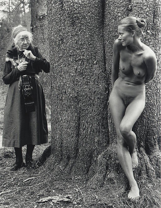 Imogen and Twinka at Yosemite, 1974