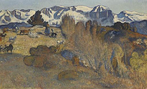 Les chèvres, 1926