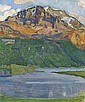 Piz Corvatsch, 1907, Ferdinand Hodler, Click for value