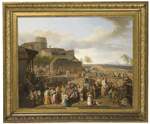 Foire de village, 1815