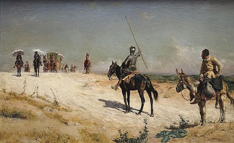 JOSÉ MORENO Y CARBONERO (MÁLAGA, 1860 - MADRID, 1942)