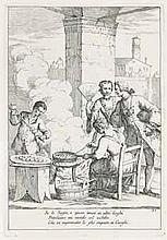 ZOMPINI, Gaetano Gherardo (1700-1778, artist) and Dottore QUESTINI (author)