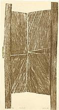 ZARINA (B. 1937) Structure II