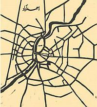 ZARINA (B. 1937) Ahmedabad; Kabul; Beirut (from the portfolio