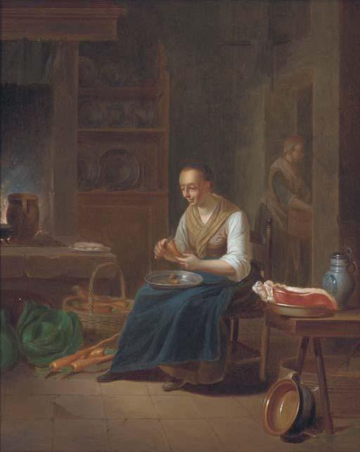 Justus Juncker (Mayence 1703-1767 Frankfurt)