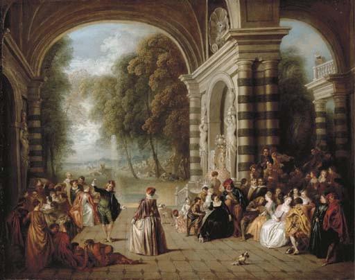 Jean-Baptiste-Joseph Pater (Valenciennes 1695-1736 Paris) after Jean-Antoine Watteau