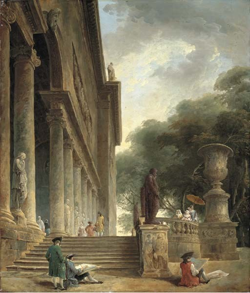 Hubert Robert (Paris 1733-1808)