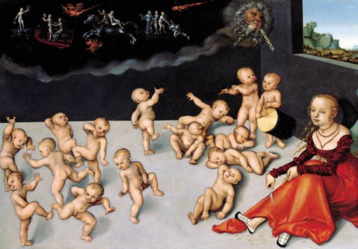 Lucas Cranach I (Wittenberg 1515-1586 Weimar) and studio