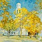 WILLIAM CHADWICK (1879-1962)A Connecticut Autumnsigned W. Chadwick, l.r. -, William Chadwick, Click for value