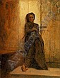 JONATHAN EASTMAN JOHNSON(Footnote 1) (1824-1906) The Chimney Sweep, Eastman Johnson, Click for value