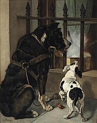 Joseph Stevens (Brussels 1819-1892)