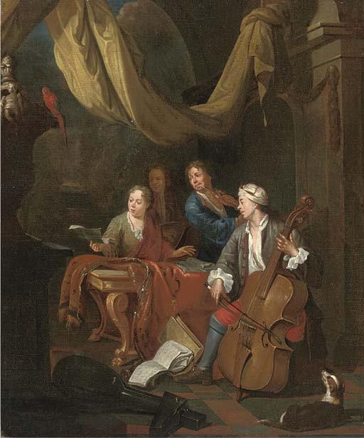Pieter Angellis (Dunkirk 1685-1734 Rennes)