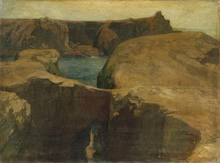 LOUIS AUGUSTE LEPERE (PARIS 1849-1918 DOMME)