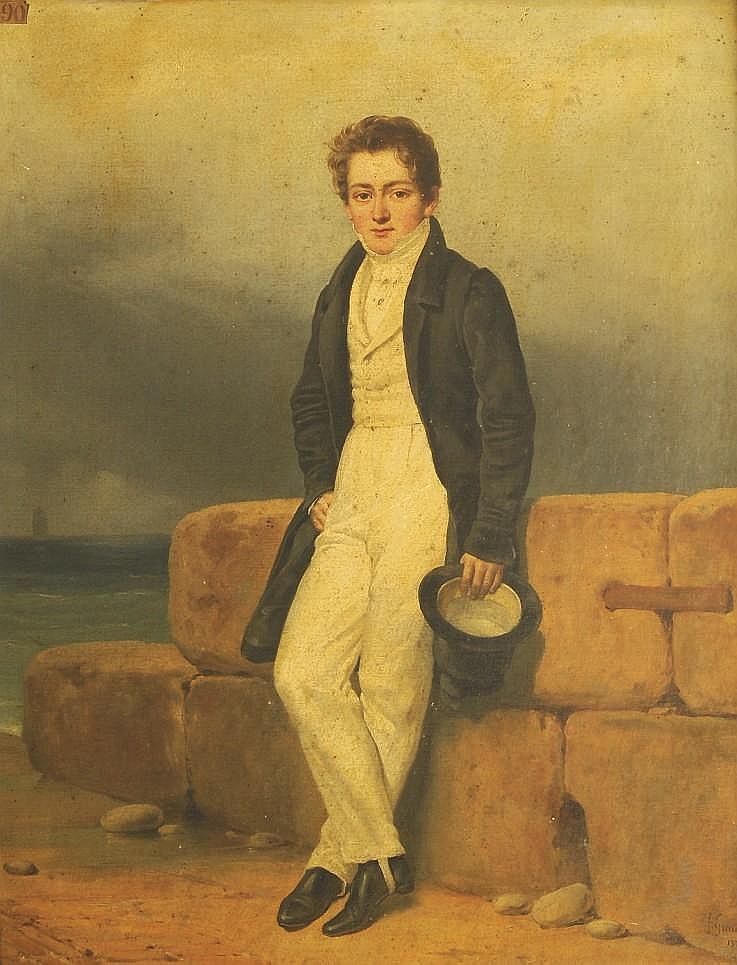 FRANCOIS GRENIER DE SAINT MARTIN (PARIS 1793-1867)