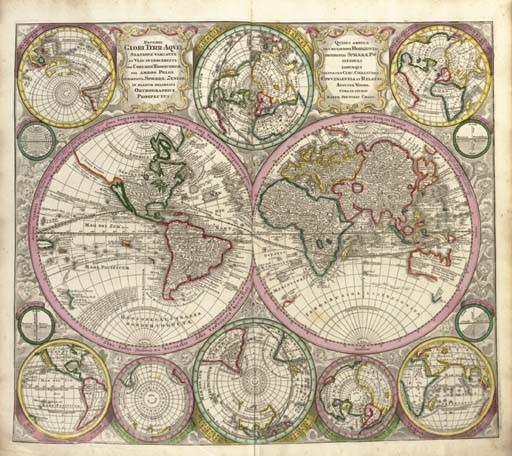SEUTTER, Georg Matthäus (1678-1757). <I>Atlas novus indicibus instructus, oder Neuer mit</I>