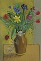Spring flowers, Irene Lesley Main, Click for value