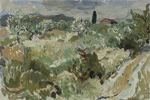 Landscape at Les Vans