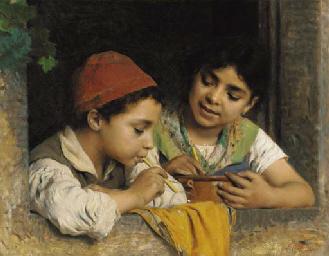 Luigi Becchi (Italian, 1830-1919)