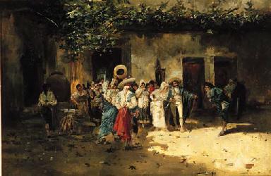 Eugenio Lucas Villamil (Spanish, 1858-1918)