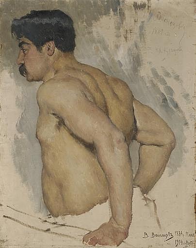 Portrait of the artist Nikolai Kuznetsov