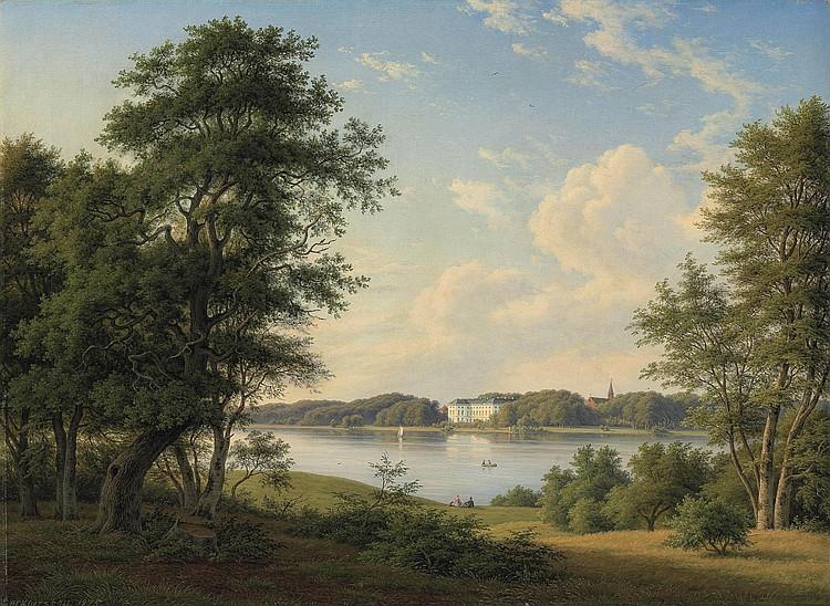 Frederik Christian Kiaerskou (Danish, 1805-1891)