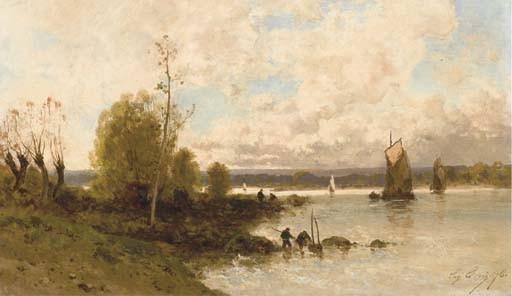 EUGENE CICERI (PARIS 1813-1890)