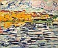 Maisons au bord de la Seine à Chatou, Maurice de Vlaminck, Click for value
