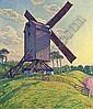Le Moulin du Kalf à Knokke (Moulin en Flandre), Theo van Rysselberghe, Click for value