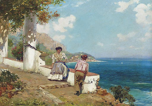 Courting Couple, Naples
