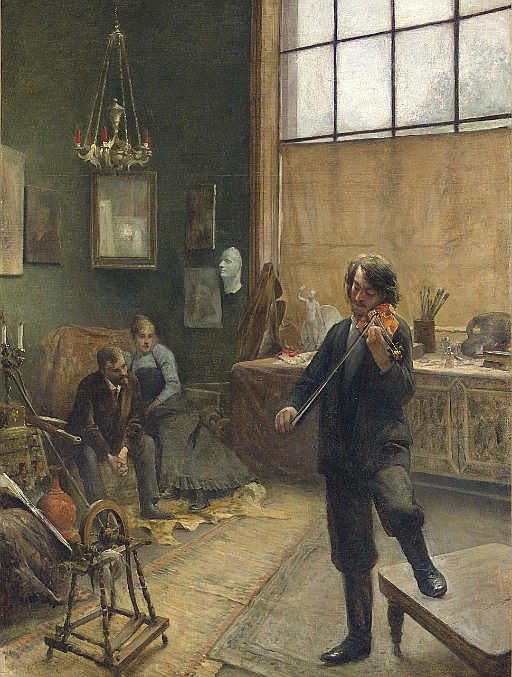 A Recital in the Studio