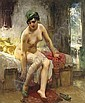 After the Bath, Frederic Arthur Bridgman, Click for value