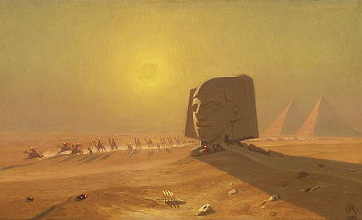 Sphinx in the Desert