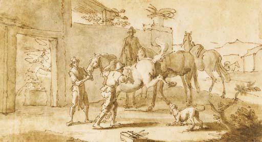 Georg Philipp Rugendas (Augsburg 1666-1742)